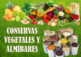 CONSERVAS VEGETALES Y ALMÍBARES
