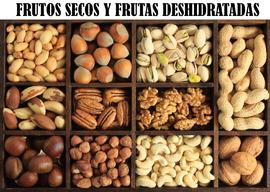 FRUTOS SECOS Y FRUTAS DESHIDRATADAS