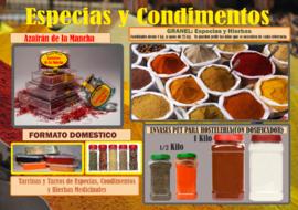 ESPECIAS, CONDIMENTOS Y HIERBAS MEDICINALES