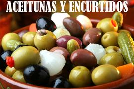 ACEITUNAS Y ENCURTIDOS
